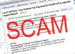 Phony IRS Email