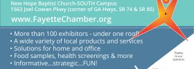 Come See Us At The Fayette Chamber Expo!