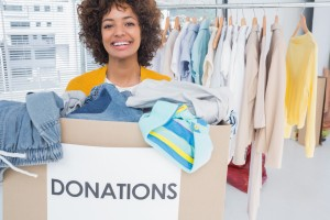 Charity Clothes Donations - canstockphoto14989772